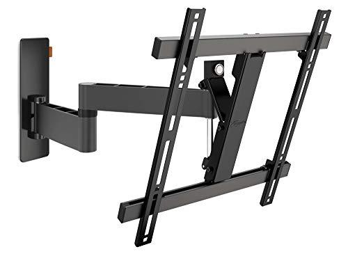 Vogel's WALL 3245 Support mural TV orientable pour écrans 32-55 Pouces (81-140 cm) | Orientable jusqu'à 180º | Inclinable jusqu'à 20º | Poids max. 20 kg et jusqu'à VESA 400x400 | Noir