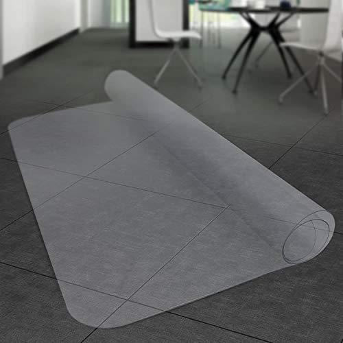 Stoelmat voor vloerbedekking, transparant, antislip, slijtvast, voor kantoor, computerstoel, rolstoel, tapijt 50*100cm Thickness 3mm