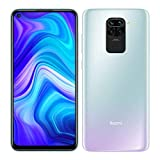 "Xiaomi Redmi Note 9 - Smartphone de 6.53"" FHD (DotDisplay, 4 GB RAM, 128 GB ROM, cámara Quad de 48 MP, Hotshot 3.5 mm, Headphone Jack, batería de 5020 mAh) Polar White [International Versión]"