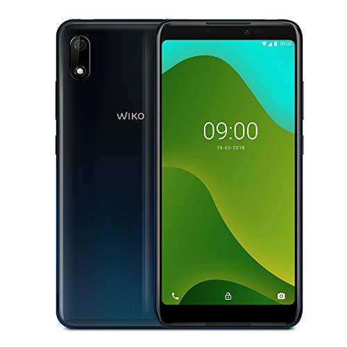 """WIKO Y70 + Carcasa – Smartphone de 5,99"""" (Dual SIM, 16GB de ROM ampliables, Altavoces Duales, Quad-Core 1,3GHz, 1GB RAM, cámaras de 8 y 5MP, batería 3730 mAh) – Color Azul"""