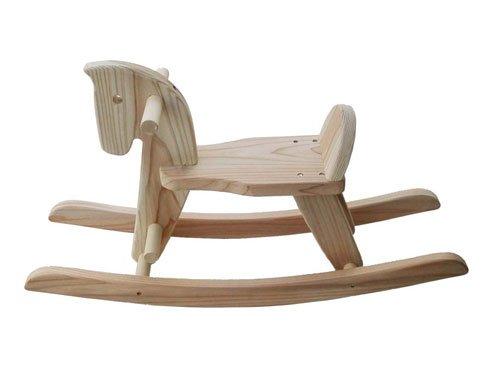 木遊舎 スギ木馬 組み立てキット