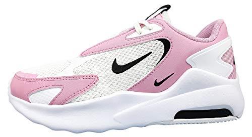 Nike Damen Air Max Bolt Walking-Schuh, White/Black-Lt Arctic Pink, 42 EU