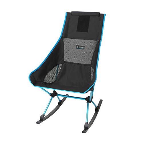 Helinox Chair Two Rocker Lightweight, Compact, Collapsible, Camping Rocking Chair, Black