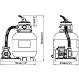 Sandfilterpumpe –  vidaXL – 12411 - 4