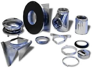 Selkirk Metalbestos 208622 8-Inch Complete Stove Thru Wall Kit
