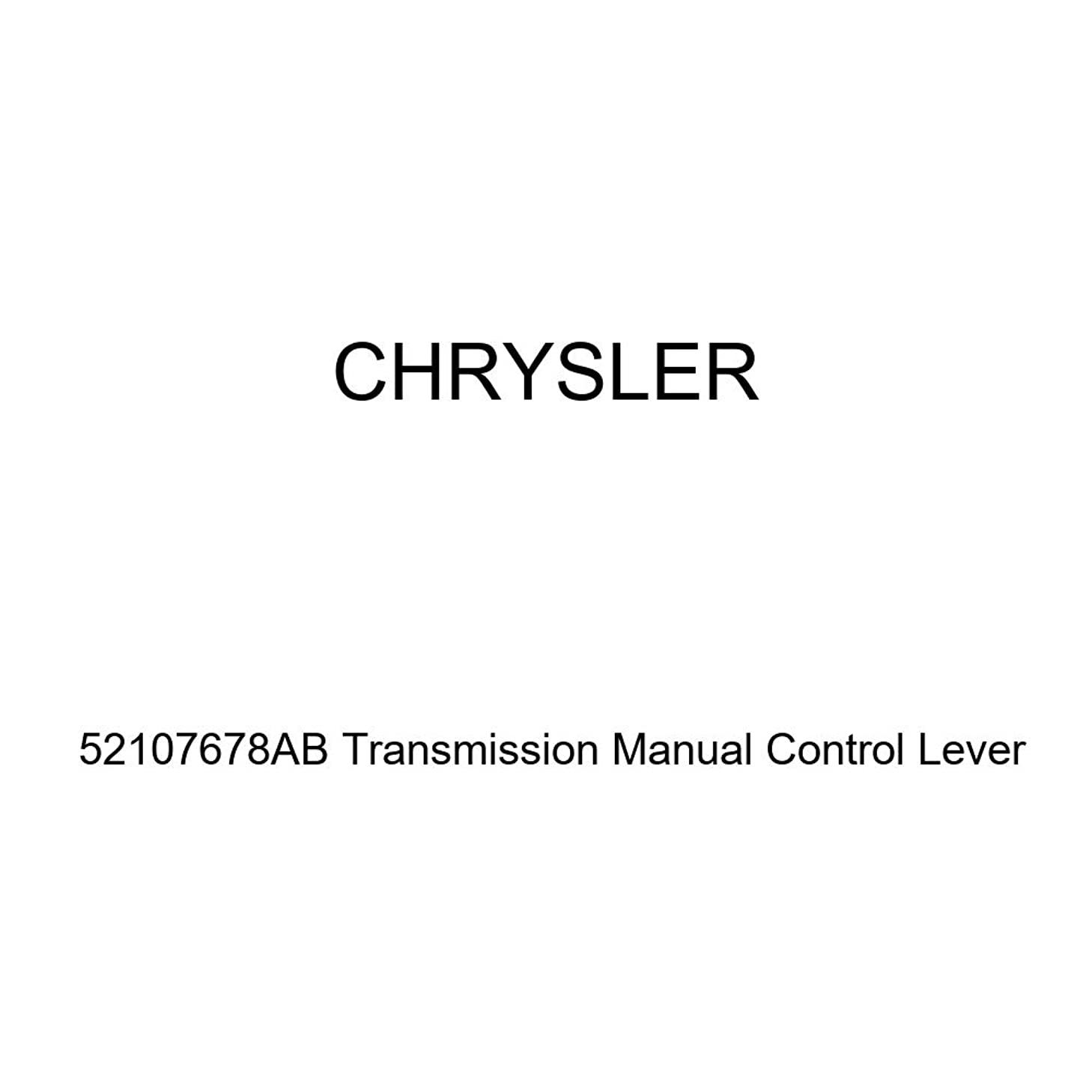 Genuine Chrysler 52107678AB Transmission Manual Control Lever