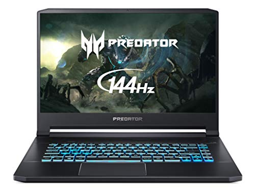 Acer Predator Triton 500 PT515-51 15.6 inch Gaming Notebook - (Intel Core i7-8750H, 16 GB RAM, 512GB PCIe NVMe SSD, NVIDIA GeForce RTX 2080 Max-Q, Full HD 144Hz IPS display with G-Sync) – Black