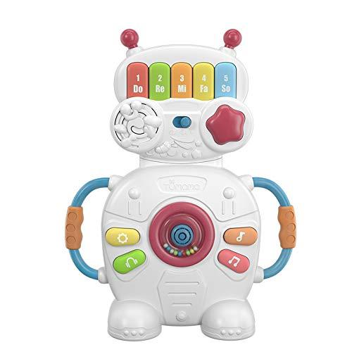 LYing Teclado de música para niños, educación temprana, niños educativos, Juguetes de Aprendizaje, Piano de simulación de Modelado de Robots