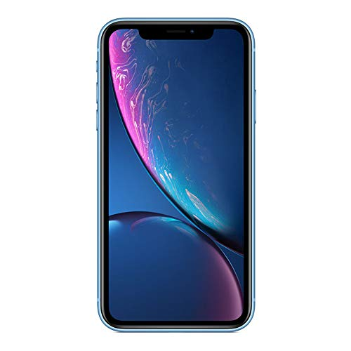 Smartphone iPhone XR – 64GB – Desbloqueado – Color Azul – Renewed
