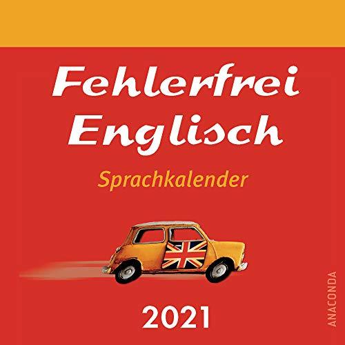 Fehlerfrei Englisch - Sprachkalender 2021