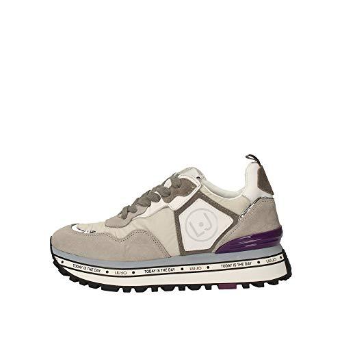 Liu Jo Sneaker Maxi Alexa Running Donna Grey 36 Taglia Europea : 36 EU