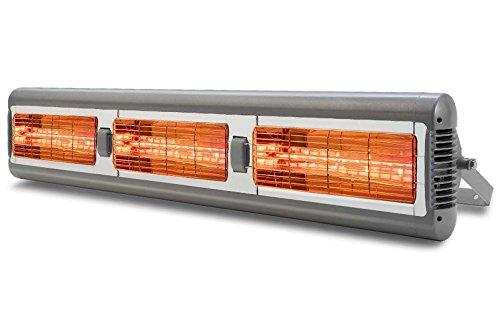 Tansun Heizstrahler Sorrento IP Triple (Silber) 3X 1,5 kW