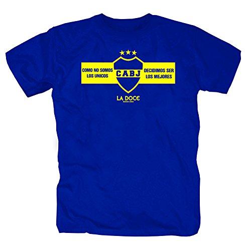 pro-Camicia Boca Juniors Los Unicos T-Shirt (2XL)