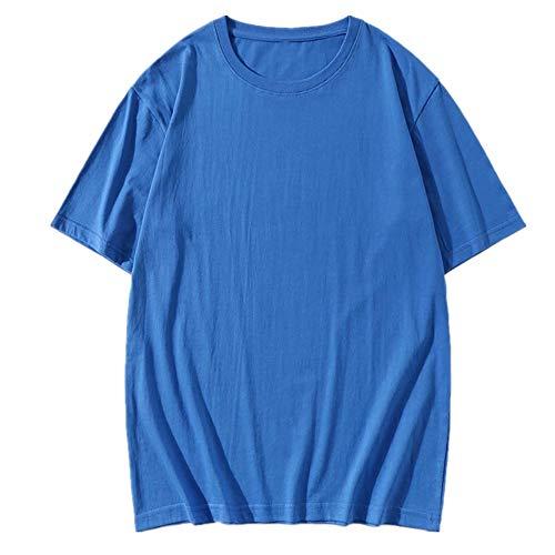 NOBRAND - Camiseta suelta para hombre Azul azul 3XL