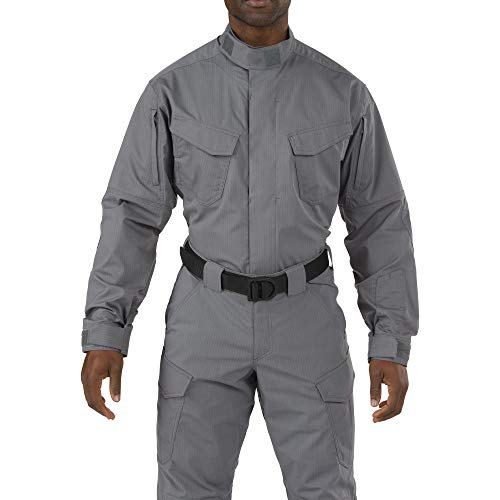 5.11 Tactical Series 511-72416 Chemise Tactique Mixte Adulte, Storm, FR (Taille Fabricant : 3XL)