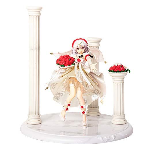 Honkai Impact 3 Character Sculpture Theresa Apocalypse Figure Statue Decoration Toy Model Computer Desktop Ornament Height 10.2inch