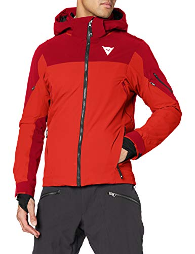 Dainese Herren HP1M1 Ski Jacke, High-Risk-Rot/Chili-Pepper, XL