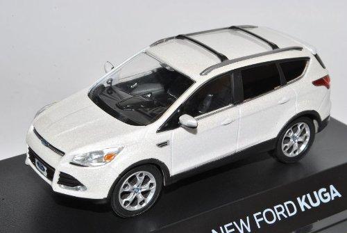 Greenlight Ford Kuga II Escape Perlmutt Metallic Weiss Ab 2012 1/43 Modell Auto