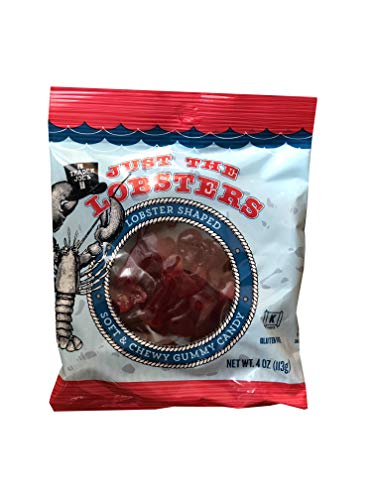 Trader Joe's Just The Lobsters Soft & Chewy Gummy Candy Gluten Free Kosher Pareve Net 4 oz (113g)