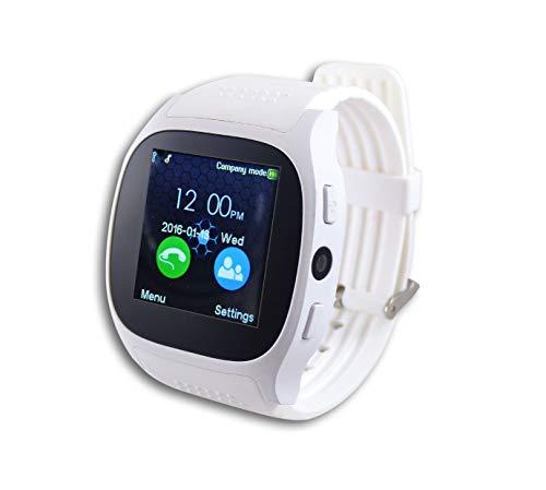 Inovalley - Reloj inteligente multifunción Android e iOS con tarjeta SIM para todos los operadores MC26