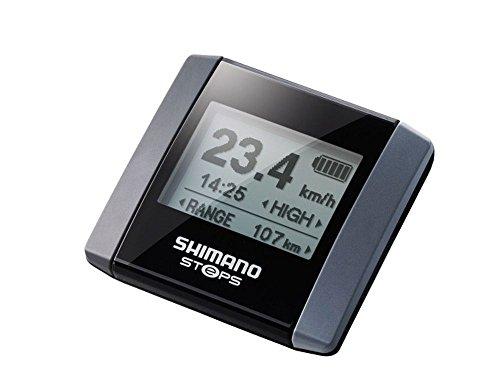 SHIMANO Steps E6000 Informations-Display, grau, Einheitsgröße