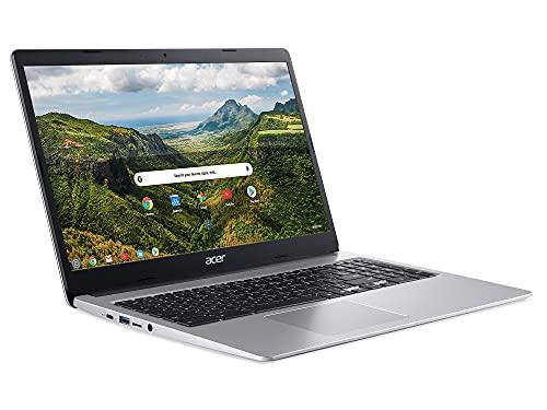 Acer Chromebook 315 CB315-3HT - (Intel Pentium N5000, 4GB RAM, 64GB eMMC, 15.6 inch Full HD Touchscreen Display, Chrome OS, Silver)