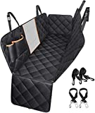 Dog Car Seat Cover, TOPELEK Large Back Pet Car Seat Protectors with Mesh