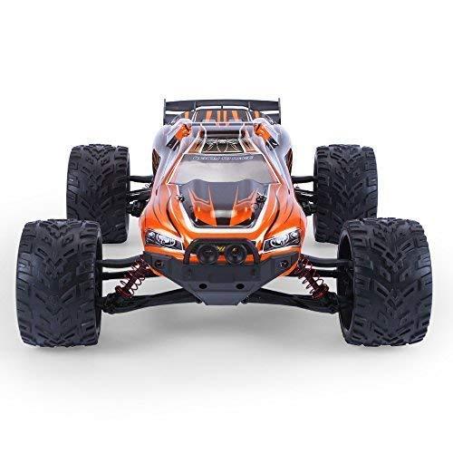 RC Auto kaufen Truggy Bild 4: MODELTRONIC Autoradio-Fernbedienung Truggy Scale 1/12 2,4G / Geschwindigkeit 40 km/h / LiPo-Akku enthalten / Car RC XINLEHONG GPTOYS S912 ferngesteuertes Spielzeugauto (Orange Truggy 9116)*