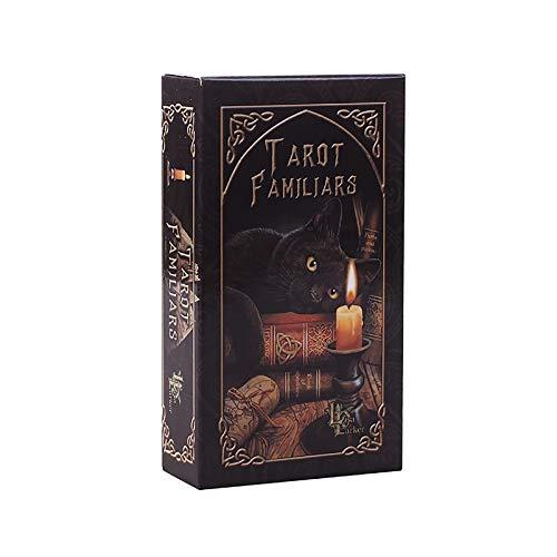 Table one Tarot Cards, Krafttier Orakel, Feiertags-Familien-Party-Geschenk,für Jugendliche Lustige Tischkartenspiele, Brettspiel, Weissagungs-Tarot (Color:EIN)
