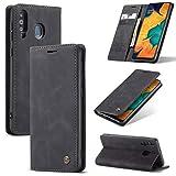 Sacchetto del telefono portatile Per Samsung Galaxy A40s / M30 Cassa da portafoglio in pelle PU, 2 in 1 flip magnetico portafoglio con portafoglio con, in pelle morbida opaca + custodia conchiglia in