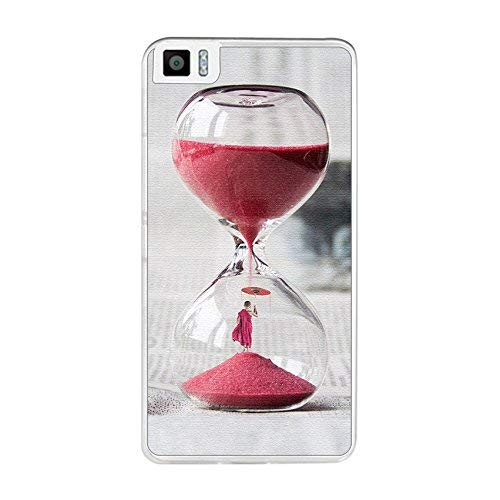 Tum&osmartphone Hülle Gel- TPU Hülle Für bq aquaris M5.5/M 2017 Design Muster - Uhren