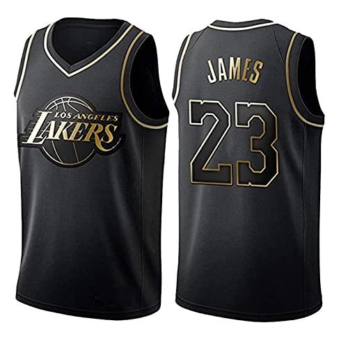 AKEFG Lakers Lebron James #23 Basket Jersey, NBA Retro Fitness Canotta Sport Top