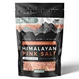 Willow & Everett Pink Himalayan Salt - 10oz / 283g - Coarse Grain Grinder & Mill Refill, Easy Pour Spout, Non-GMO - Kosher Rock Salt For Cooking
