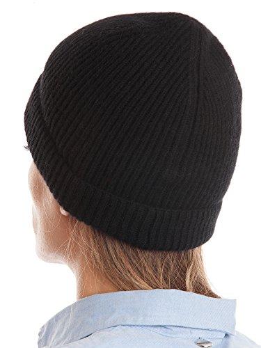 DALLE PIANE CASHMERE DALLE PIANE CASHMERE - Hut aus 100% Kaschmir - für Mann/Frau, Farbe: Schwarz, Einheitsgröße