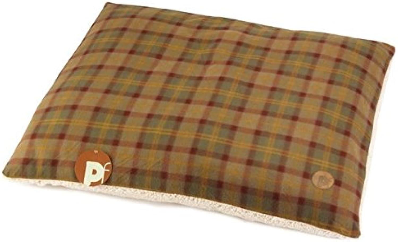 Petface Country Check Pillow Mattress Medium (PACK OF 6)