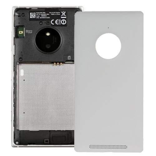 DaMaiXsell Copertura Posteriore della Batteria for Il Nokia Lumia 830 (Nero) (Color : White)