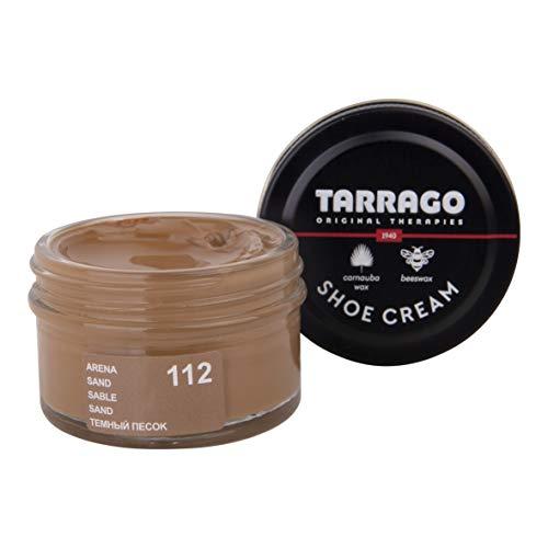 Tarrago Shoe Cream Jar 50 ml - Crema tinta para zapatos y bolsos, unisex, adulto, Arena (Sand 112), 50 ml