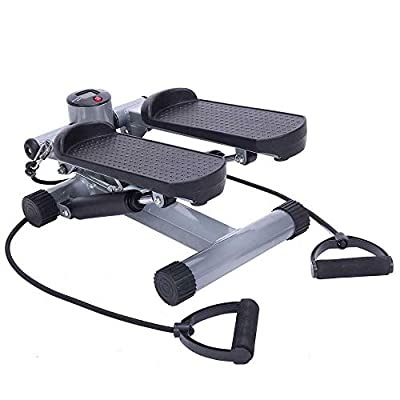 Aerobic Step Air Stair Climber Stepper Exercise Machine Equipment Provide A Low-Impact Aerobic Workout Target Calves Thighs Buttocks and Hips Lightweight Portable Easy Storage Suitable for All Ages