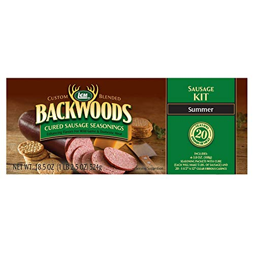 LEM Backwoods Cured Summer Sausage Kit