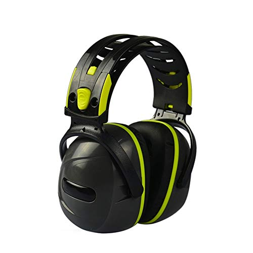 WanuigH Noise Cancelling koptelefoon, akoestische hoofdtelefoon met ruisonderdrukking voor slaapbewaking, ABS Shell voor shooting Construction