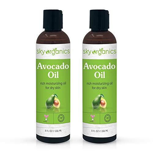Avocado Oil by Sky Organics (8 fl oz 2 Pack) 100% Pure...