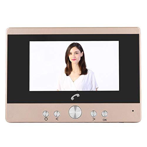 ASHATA Digitaler Türspion, 4.3 Zoll LCD Video Türkamera Digitale Türspion-Kamera,PIR Bewegungserkennung Nachtsicht Viewer Foto Audio Überwachungskamera für Türstärken von 35-95mm (EU-Stecker)