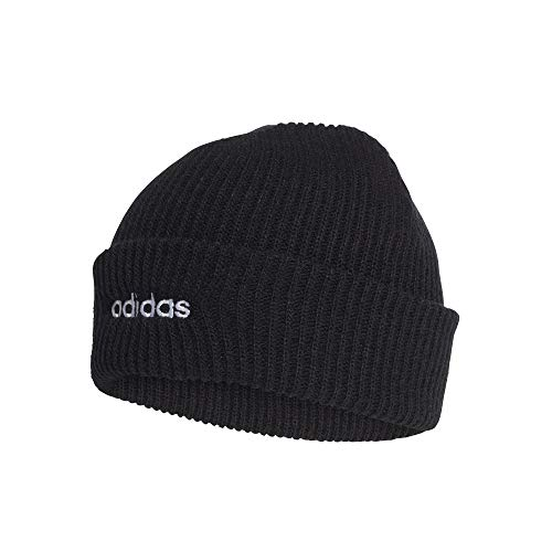 adidas CLSC Beanie Hat, Black/White, OSFW