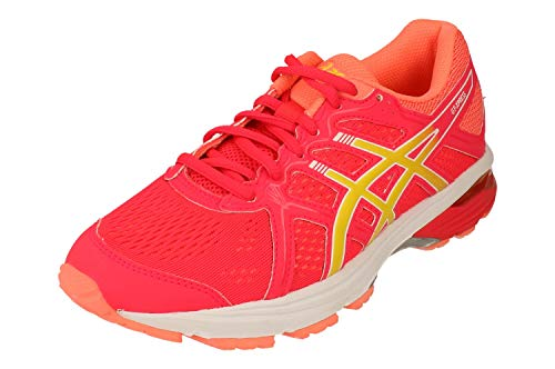 Asics GT-Express Mujeres Running Trainers 1012A614 Sneakers Zapatos (UK 5.5 US 7.5 EU 39, Laser Pink Sour Yuzu 700)