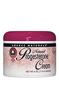 Source Naturals Progesterone Cream - Women s Health Support - High Purity Paraben Free - 4 Ounces