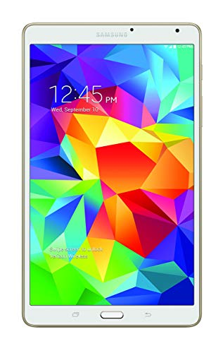 Samsung Galaxy Tab S 4G LTE Tablet, Dazzling White 8.4-Inch 16GB (Verizon Wireless) (Renewed)