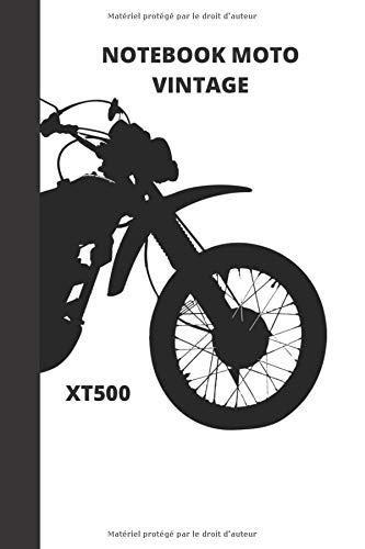 NOTEBOOK MOTO VINTAGE: XT500 1977