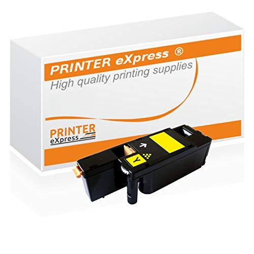 Printer-Express XL Toner ersetzt Dell XY7N4, 593-11131 Toner für Dell C1660 C1660W / Dell C 1660 1660W Drucker gelb