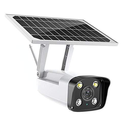DBM-TOR Cámara de Seguridad inalámbrica al Aire Libre Cámara IP 4G energía Solar Vigilancia Video 1080P con la visión Nocturna 40M, Dos Maneras de Audio, detección de Movimiento,WiFi