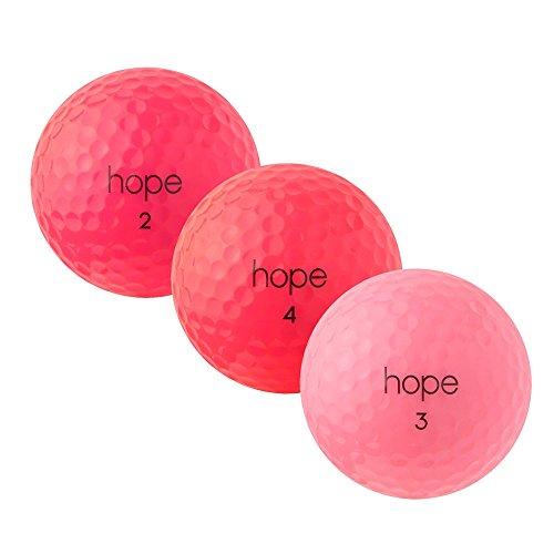 PEARL GOLF Wilson Hope - PearlSelection - AAAAA - pink - gebrauchte Golfbälle - 25 Lake Balls